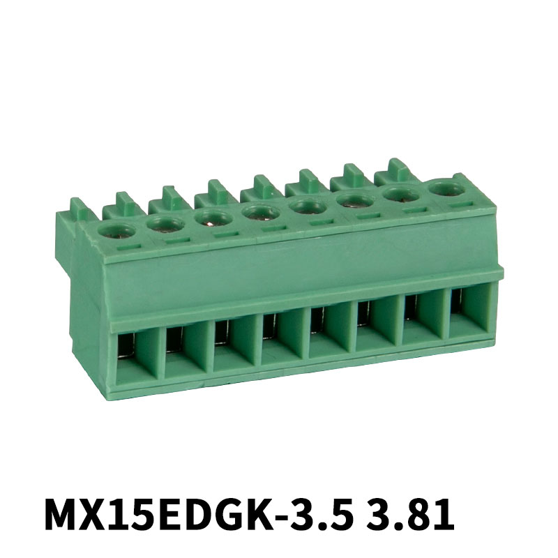 3.5mm Green Pluggable Terminal Block