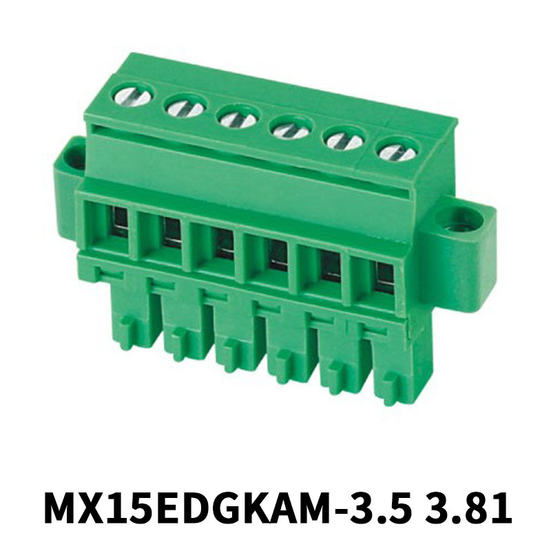 6 Position 3.5mm Pluggable Terminal Block