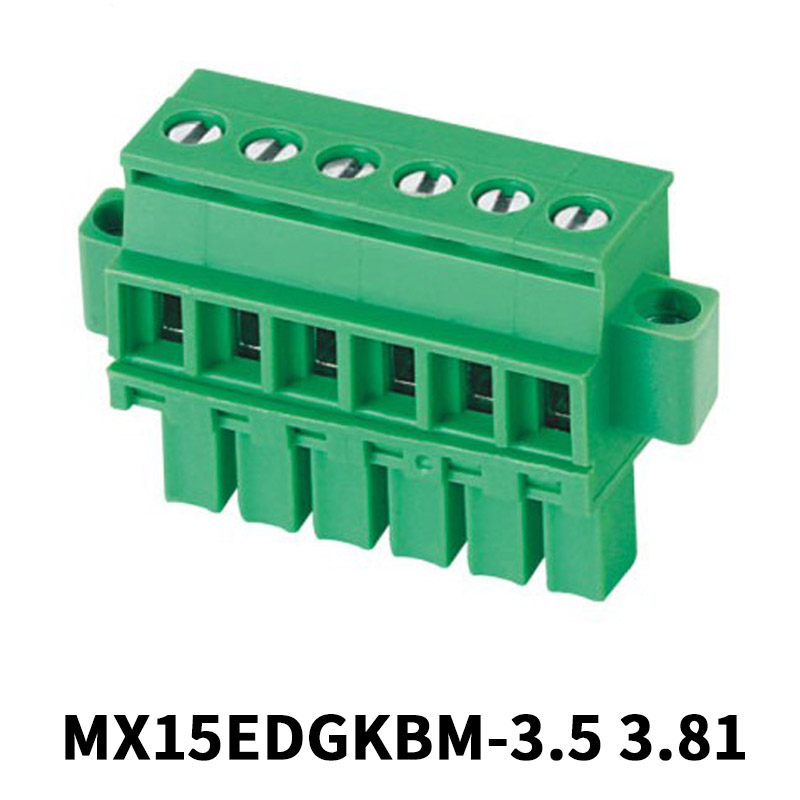 6 Position 3.81mm Pluggable Terminal Block
