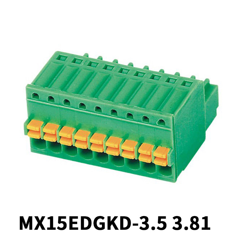 3.5mm Screwless Pluggable Terminal Block