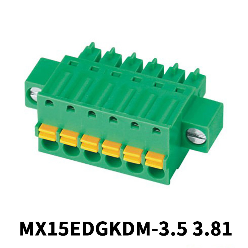 3.81mm Screwless Pluggable Terminal Block