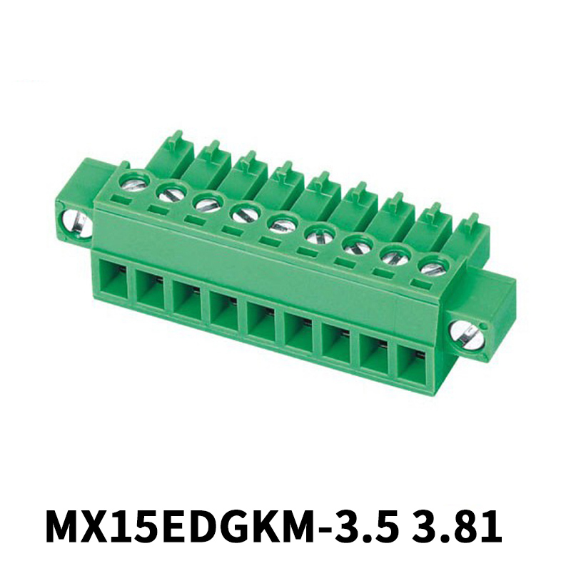 3.81mm Female Pluggable Terminal Block