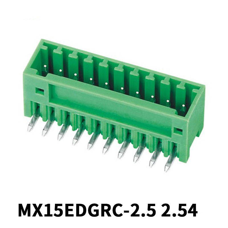 2.54mm Male Pluggable Terminal Block